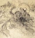 DELACROIX Eugene Apollo Slays Python sketch