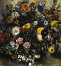 DELACROIX Eugene Bouquest of Flowers