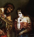 DELACROIX Eugene Cleopatra and the Peasant