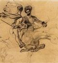 DELACROIX Eugene Illustration for Goethe s Faust