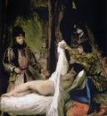 DELACROIX Eugene Louis d Orleans Showing His Mistress