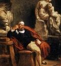 DELACROIX Eugene Michelangelo in his Studio