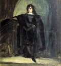 DELACROIX Eugene Self Portrait as Ravenswood