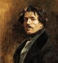 DELACROIX Eugene Self Portrait