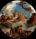 DELACROIX Eugene Sketch for Peace Descends to Earth