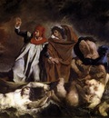DELACROIX Eugene The Barque of Dante