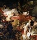 DELACROIX Eugene The Death of Sardanapalus