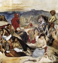 DELACROIX Eugene The Massacre of Chios