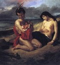 DELACROIX Eugene The Natchez