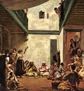 Delacroix Jewish Wedding in Morocco, 1839, oil on canvas, Mu