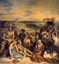 Delacroix Massakern pa Chios, 1822 24, 415 5x348 cm, Louvre