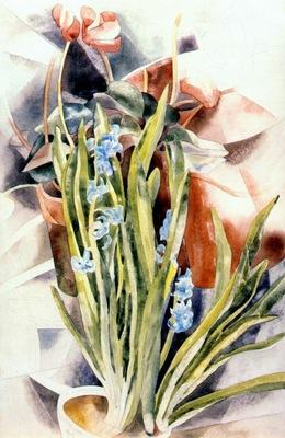 demuth flower study no 1 cyclamen and hyacinth