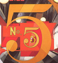 bs ahp Charles Demuth I Saw The Figure5 In Gold