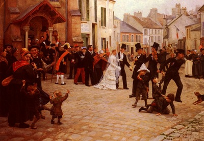 Deneux Gabriel Charles The Wedding