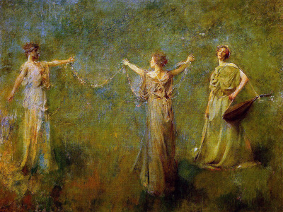 Dewing Thomas The garland Sun