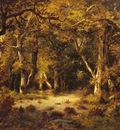 De La Pena Narcisse Virgile En Foret De Fontainebleau