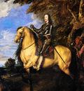 Dijck Anthony Portrait of Charles of England Sun
