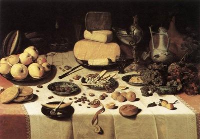laid table wga