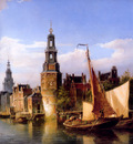 dommersen pieter city view sun