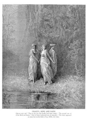 Dante 017 Charity, Hope, Faith sqs