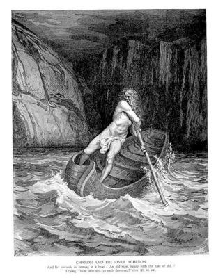Dante 018 Charon and the River Chaeron sqs