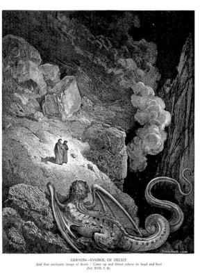 Dante 031 Geryon Symbol of Deceit sqs