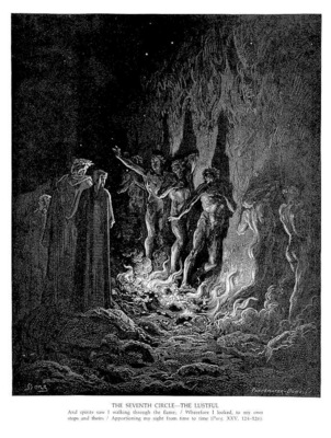 Dante 102 The Seventh Circle The Lustful sqs