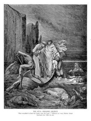 Dante 107 The Styx Philippo Argenti sqs