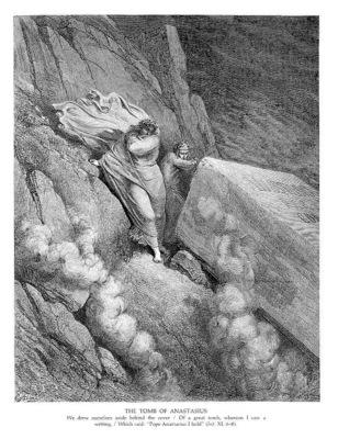 Dante 113 THe Tomb of Anastasius sqs
