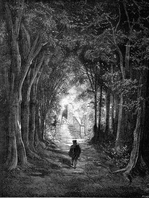 Gd 0006 HeTurnedInTheDirectionOfTheCastle GustaveDore sqs