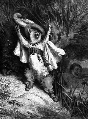 Gd 0014 Help TheMarquisOfCarabasIsDrowning GustaveDore sqs