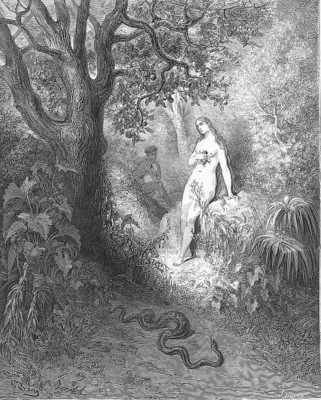 pl040 Back to the thicket slunk The guilty serpent