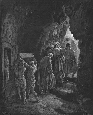 Bible 1866 The Burial of Sarah