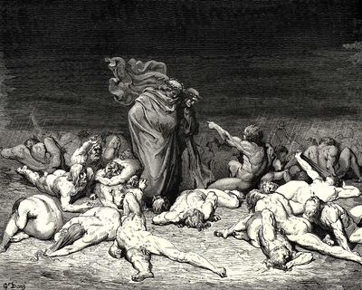 Dore Gustave 20 Thy city heap d with envy to the brim held me in brighter days  Ye citizens were wont to name me Ciacco