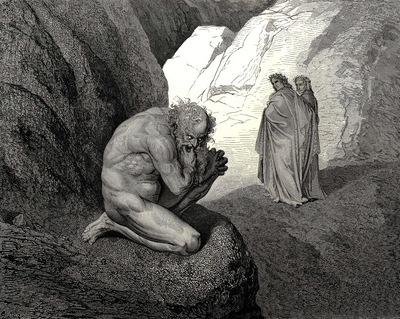 Dore Gustave 21 Curs d wolf thy fury inward on thyself prey and consume thee