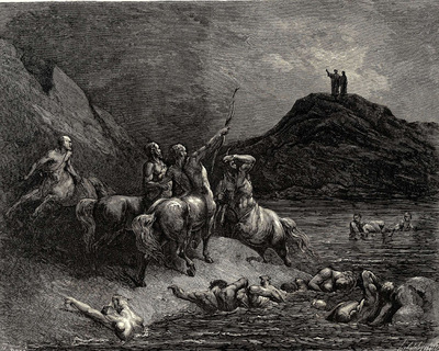 Dore Gustave 33 One cried from far Say to what pain ye come condemn d who down this steep have journied