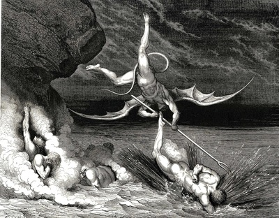 Dore Gustave 48 In pursuit he therefore sped exclaiming Thou art caught