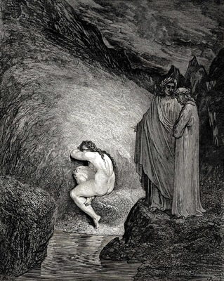 Dore Gustave 63  This is Myrrha s old soul inexorable and pitilessos who had loved her father in