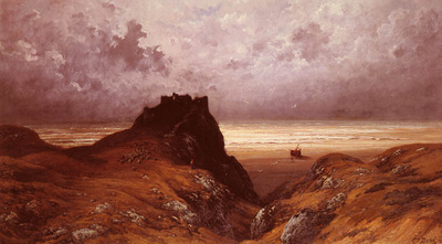 Dore Gustave Castle On The Isle Of Skye