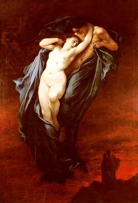 Dore Gustave Paolo And Francesca Da Rimini