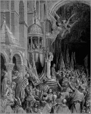 crusades dandolo preaching