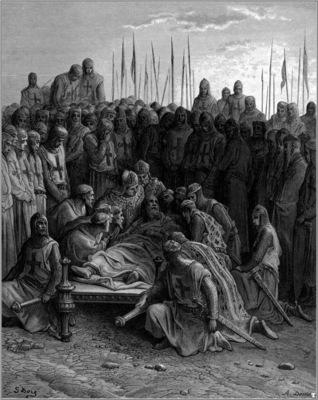 crusades death of baldwin I
