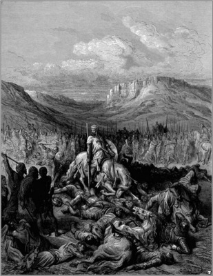 crusades glorious death of de maille