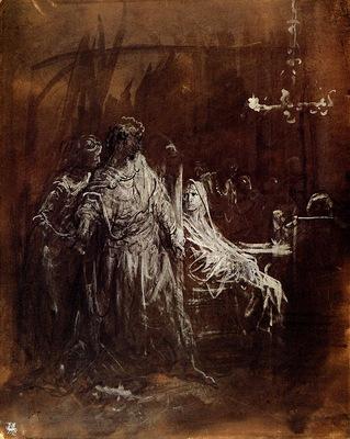 ma Dore Apparition du Spectre de Banquo Macbeth
