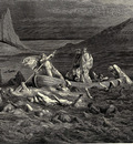 Dore Gustave 24 Soon as both embark d cutting the waves goes on the ancient prow more deeply than with others it is wont