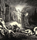 Dore Gustave 28 To the gate he came and with his wand touch d it whereat open without impediment it flew