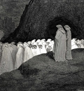 Dore Gustave 51 Tuscan who visitest the college of the mourning hypocrites