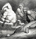 Dore Gustave 65  My guide said to me that this bold hasardeur had dared to try his power against Jupiter the sovereign