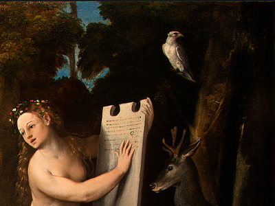 dossi circe and her lovers in a landscape, c  1525, 100 8x