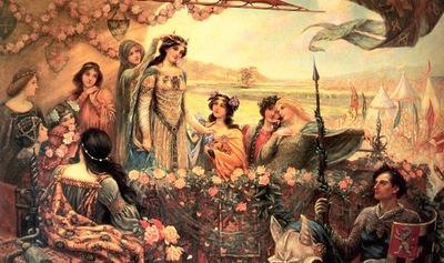 Draper, Herbert Lancelot Guinevere end